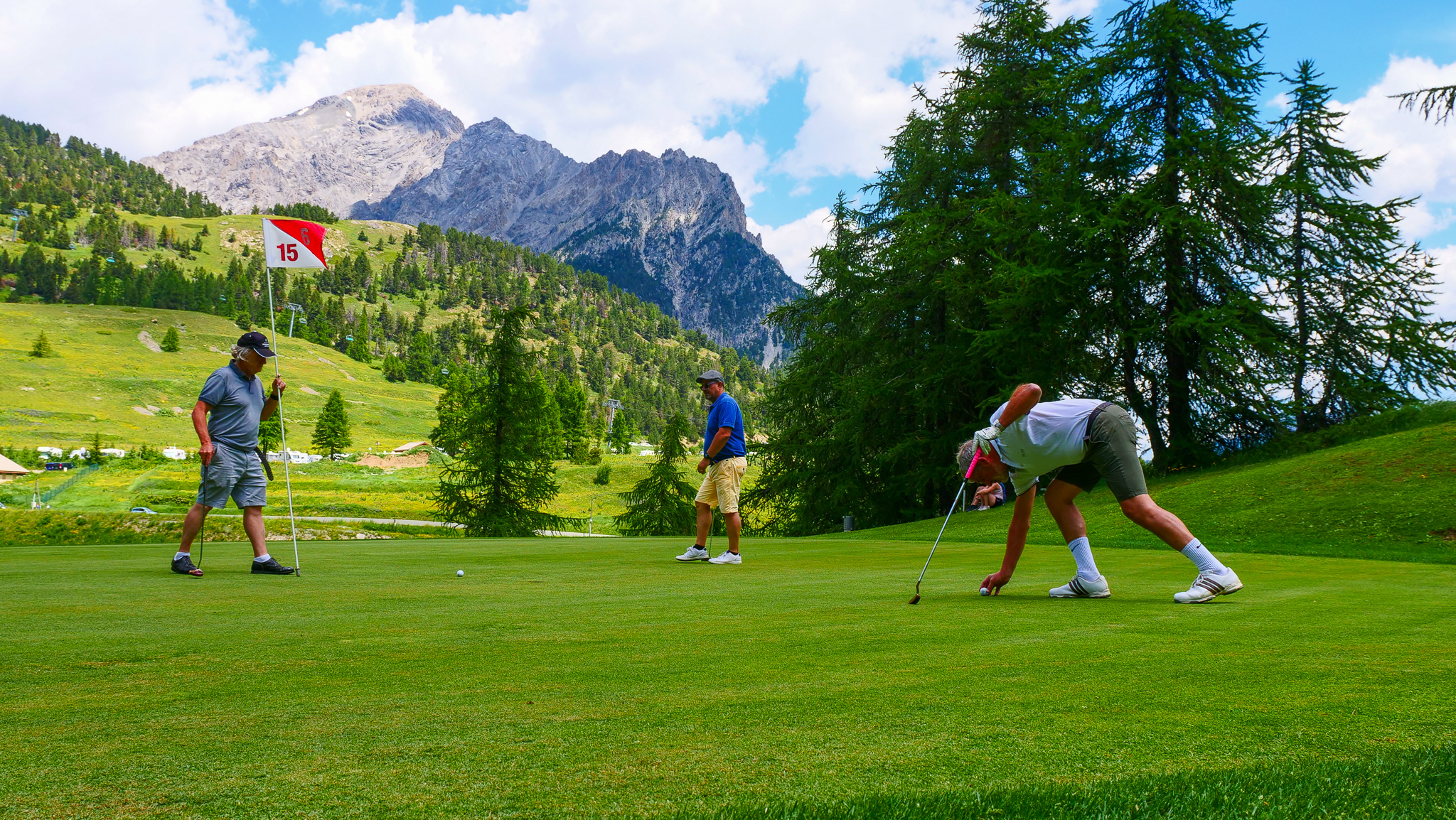 18 Trous Transfrontalier © Golf International de Montgenèvre
