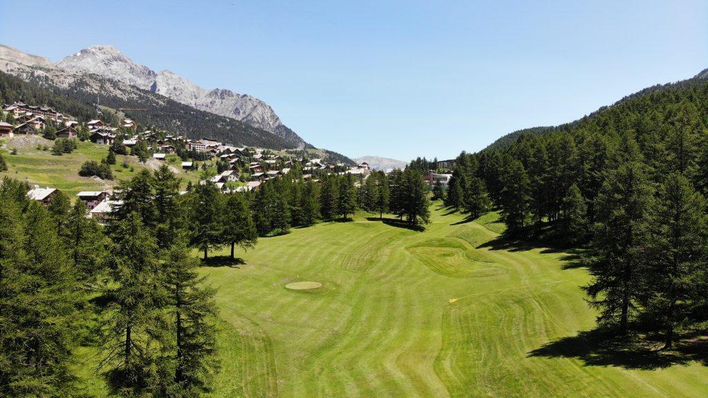 Compact 9 Trous © Golf International de Montgenèvre